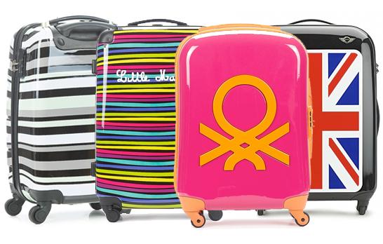 Comprare uno stock di valigie